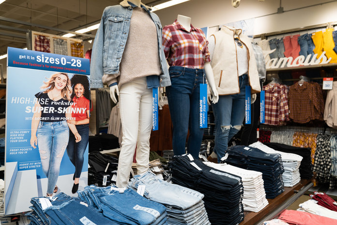 Old Navy Size Yes Concept Store