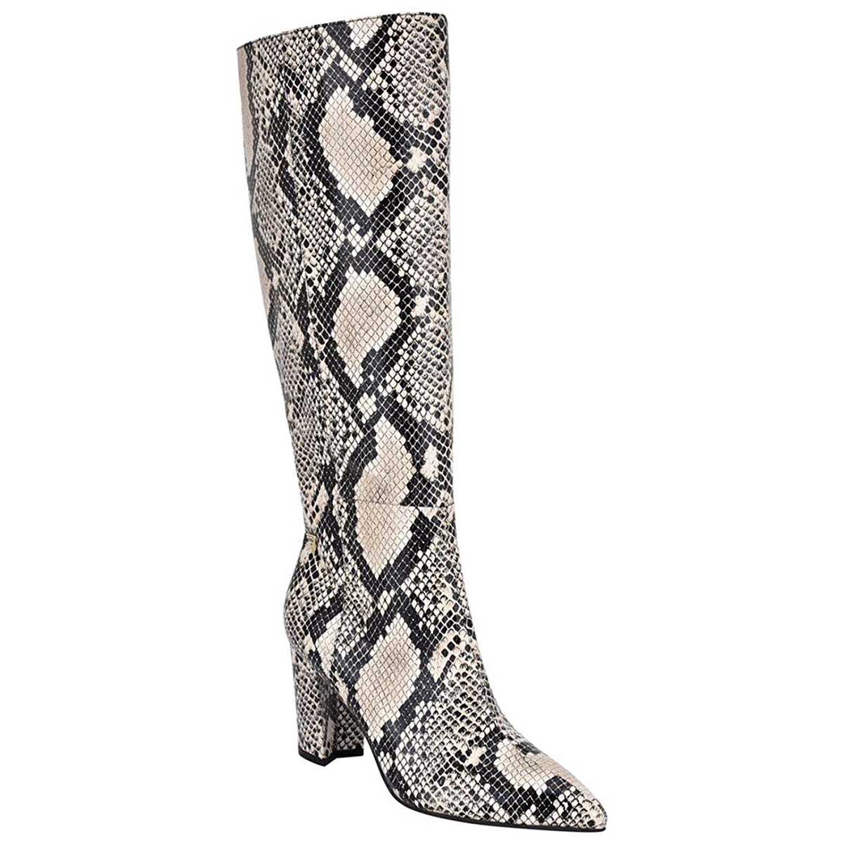 Guess Factory Mariana Snake Print Knee-High Boots