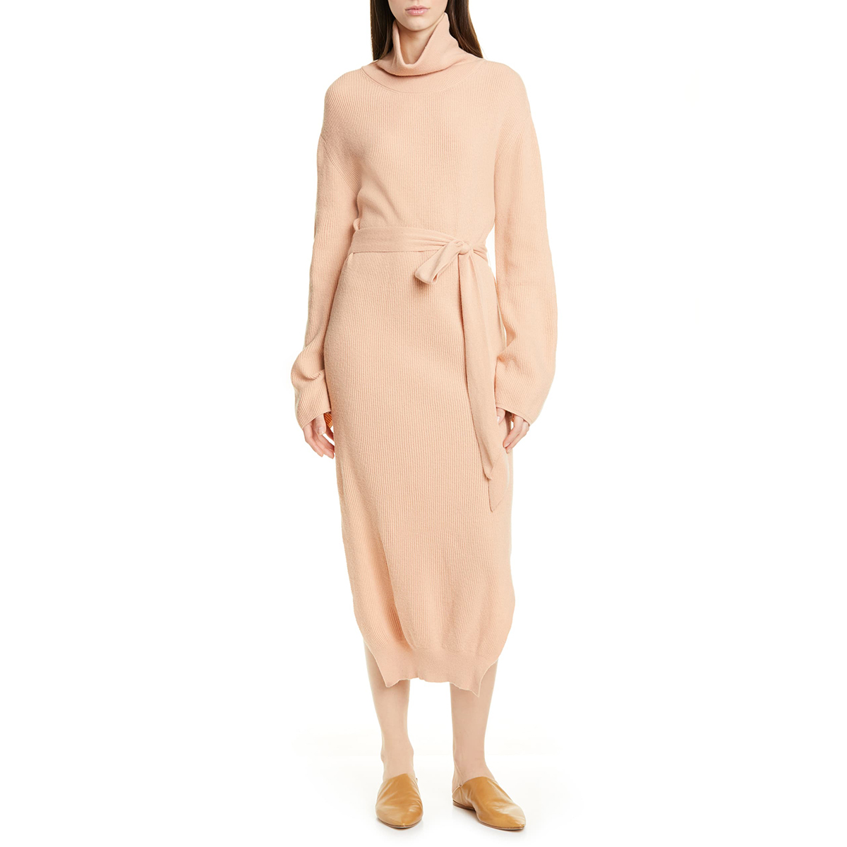 Canaan Long Sleeve Sweater Dress NANUSHKA