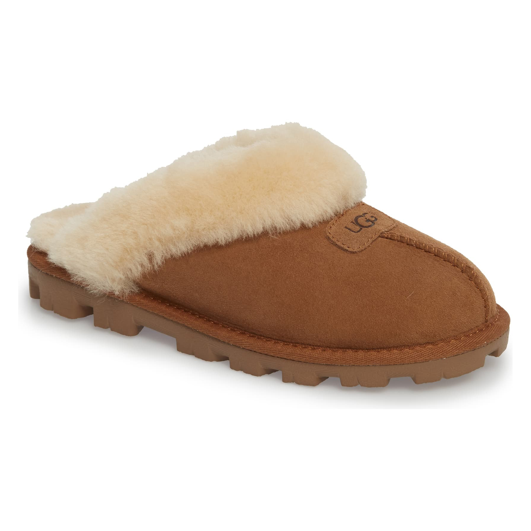 Ugg Genuine Shearling Slipper in Chestnut