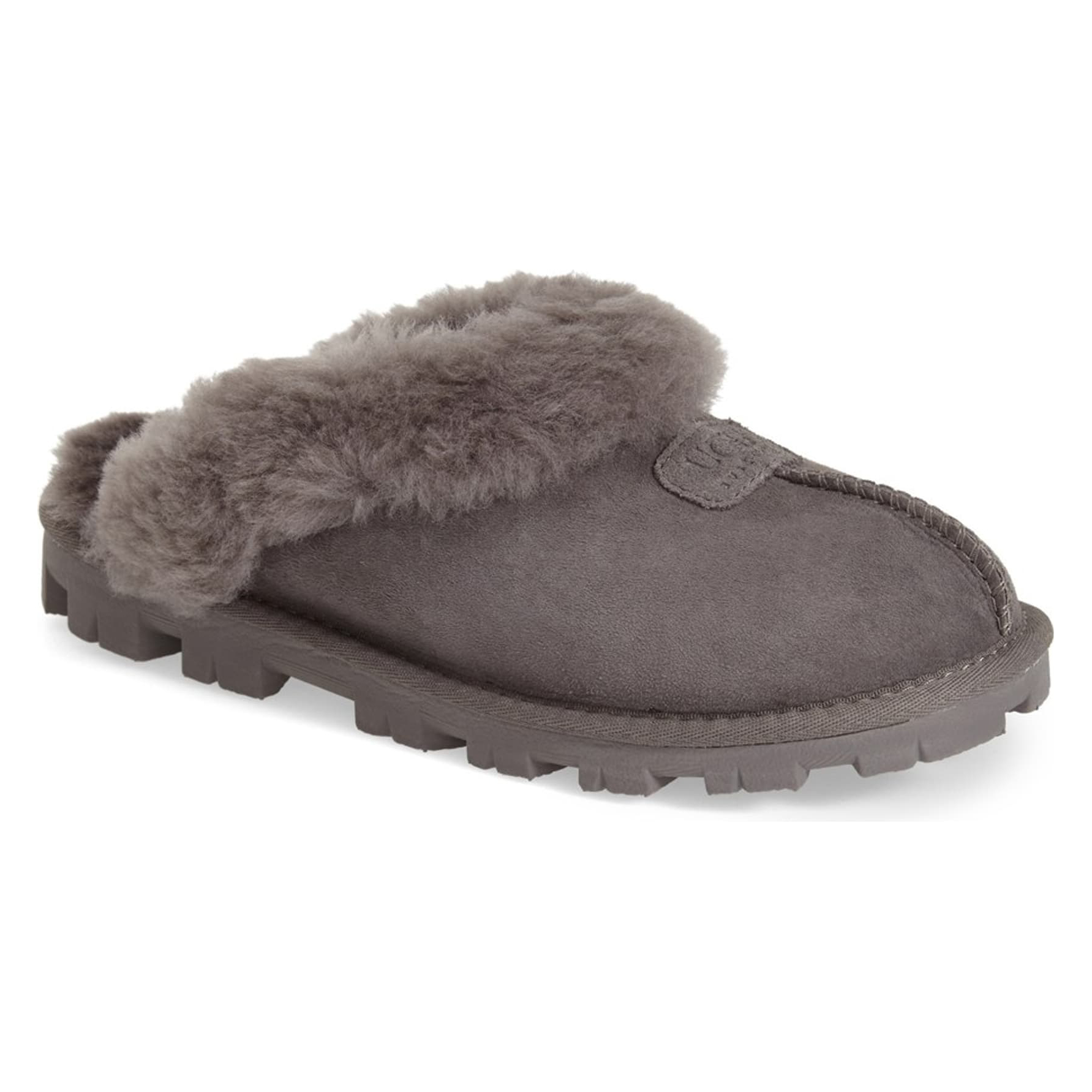 Ugg Genuine Shearling Slipper in Grey