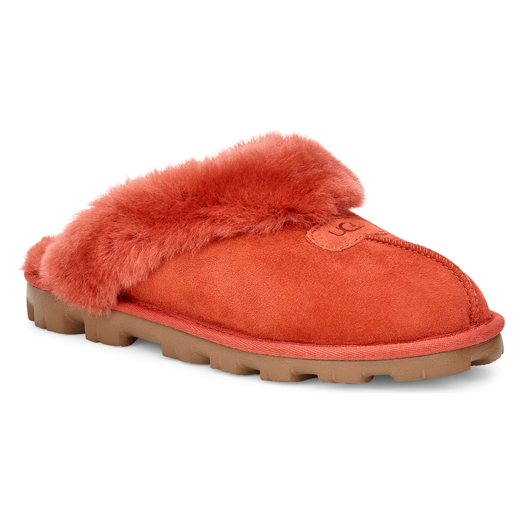 Ugg Genuine Shearling Slipper in Terracotta