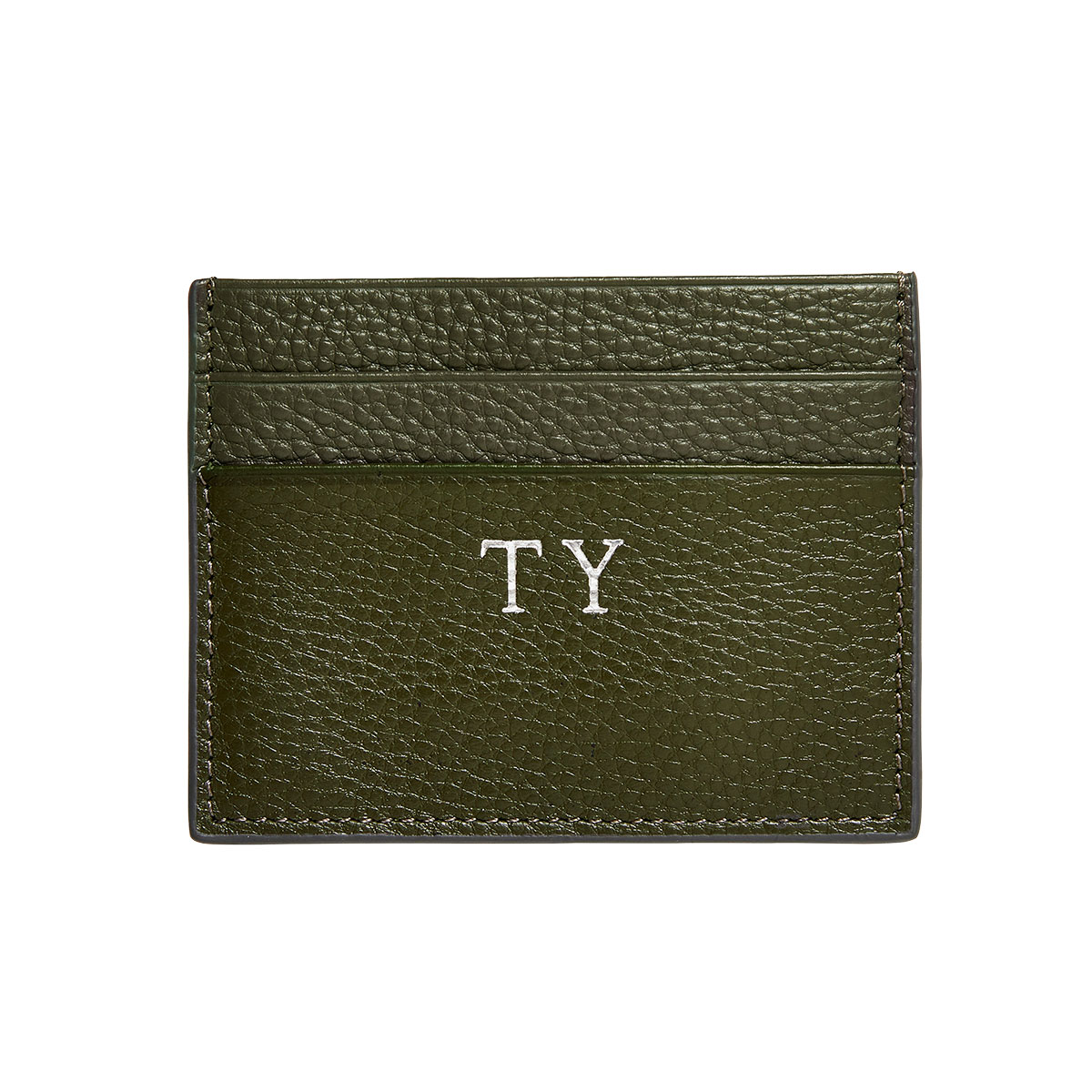 The Daily Edited Pebbled Double Cardholder