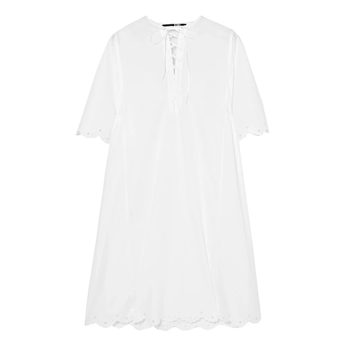McQ Alexander McQueen Lace-up Dress
