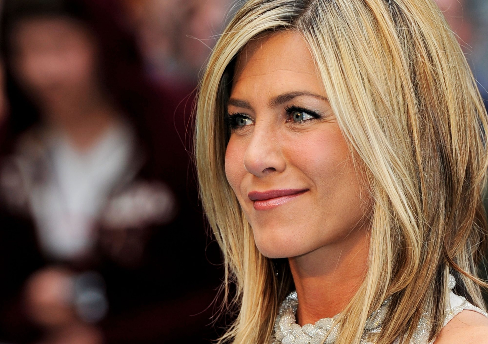 Jennifer Aniston attends the UK film premiere of  Horrible Bosses
