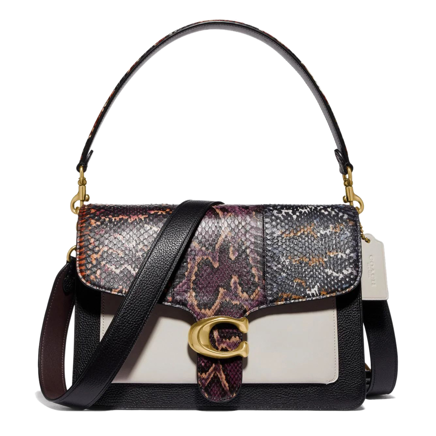 Coach Tabby Shoulder Bag In Snakeskin