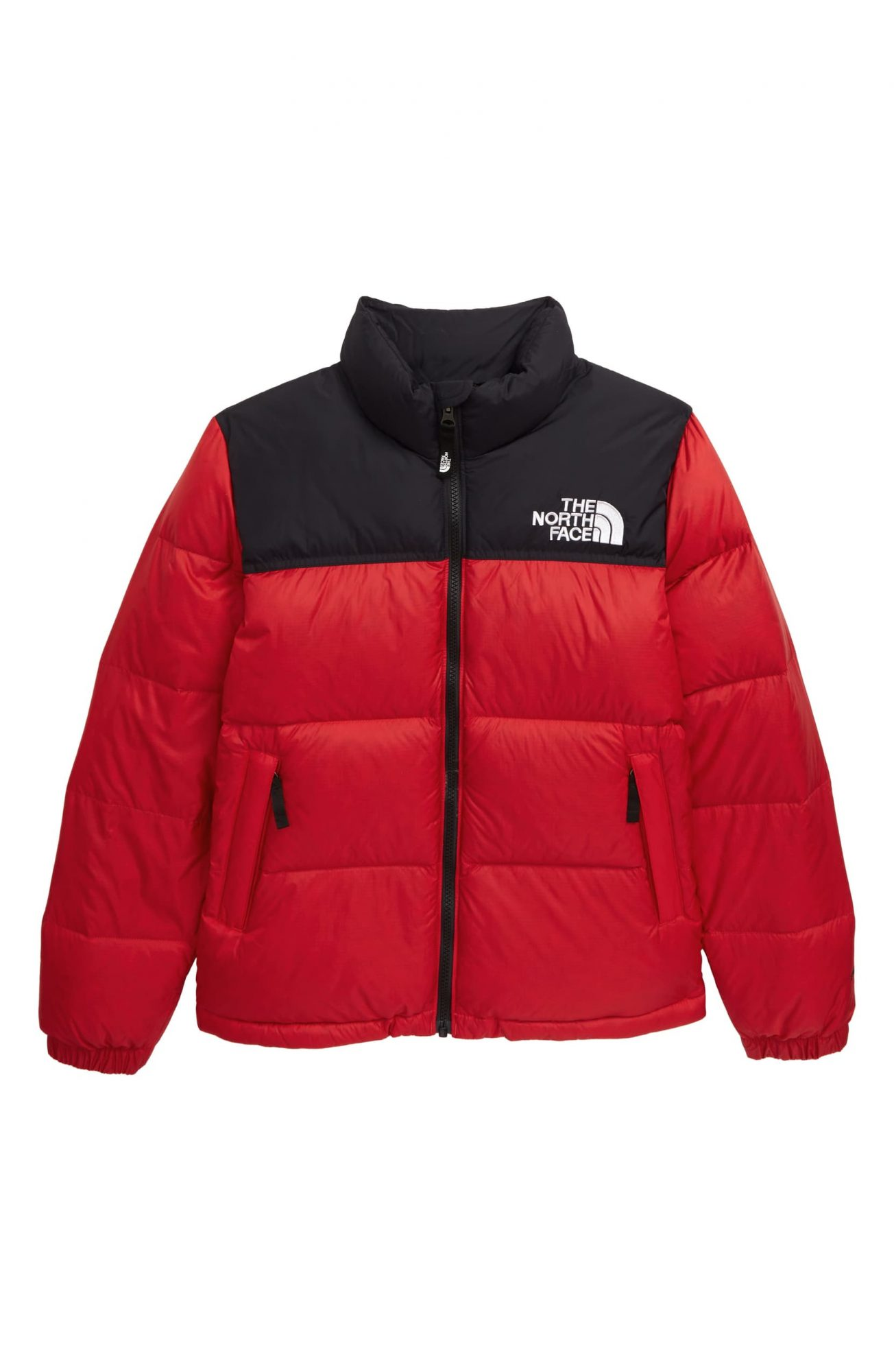The North Face Red Puffer Jacket