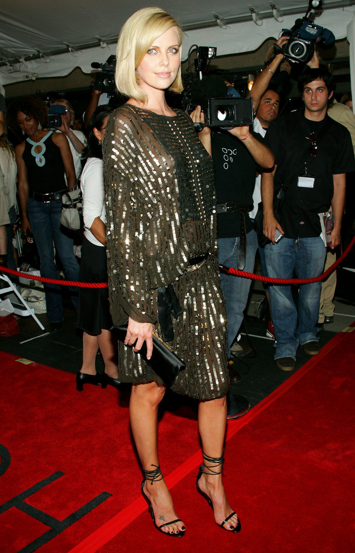 Charlize Theron at TIFF 2005