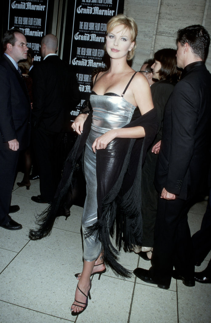 Charlize Theron at the 36th Annual New York Film Festival in 1998