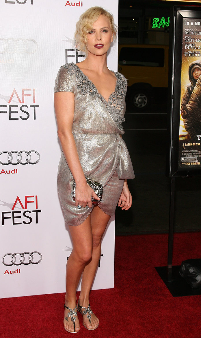 Charlize Theron at the AFI FEST 2009 Screening of The Road in 2009