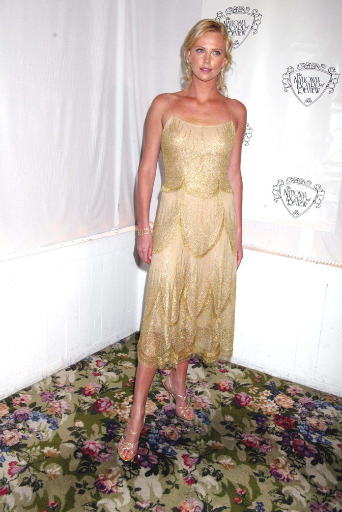 Charlize Theron at the National Board of Review 2004 Awards Gala