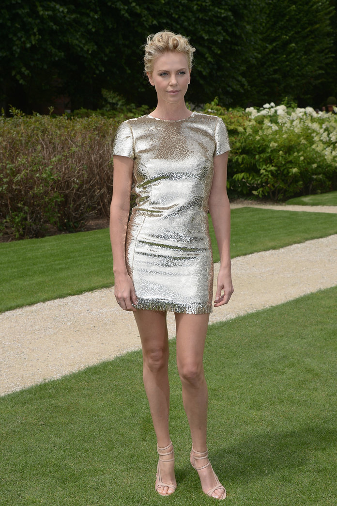 Charlize Theron at the Christian Dior show 2014