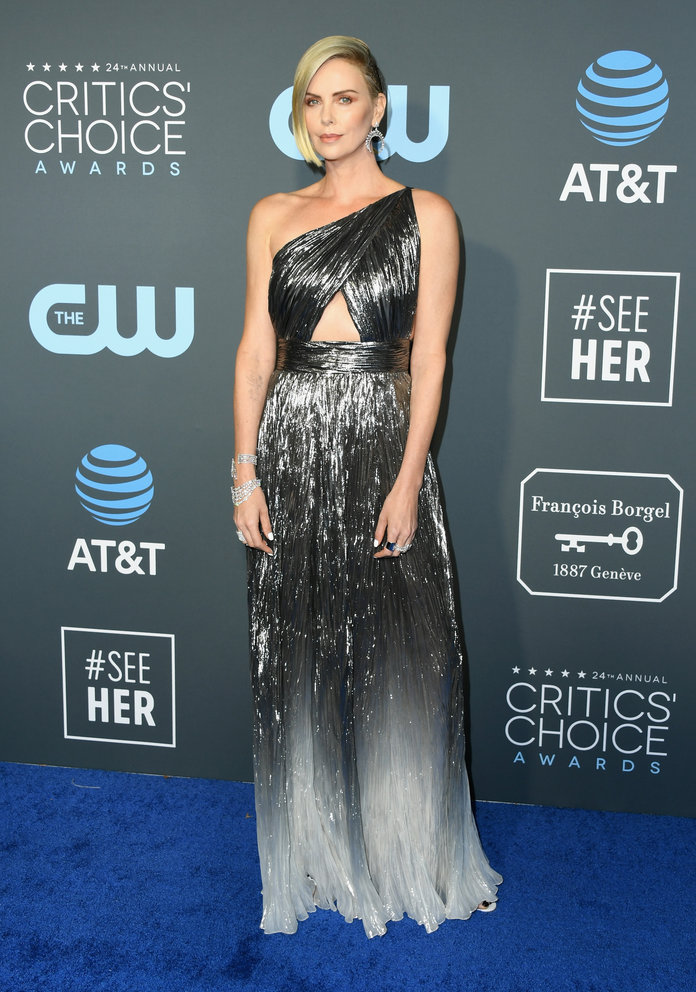 Charlize Theron at the 2019 Critics Choice Awards