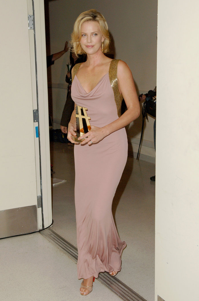 Charlize Theron at the 2005 Hollywood Film Festival Awards Gala Ceremony