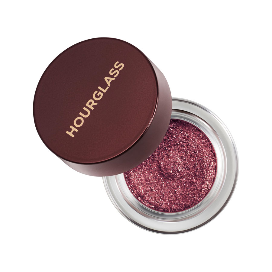 Hourglass Scattered Light Glitter Eye Shadow in Cranberry