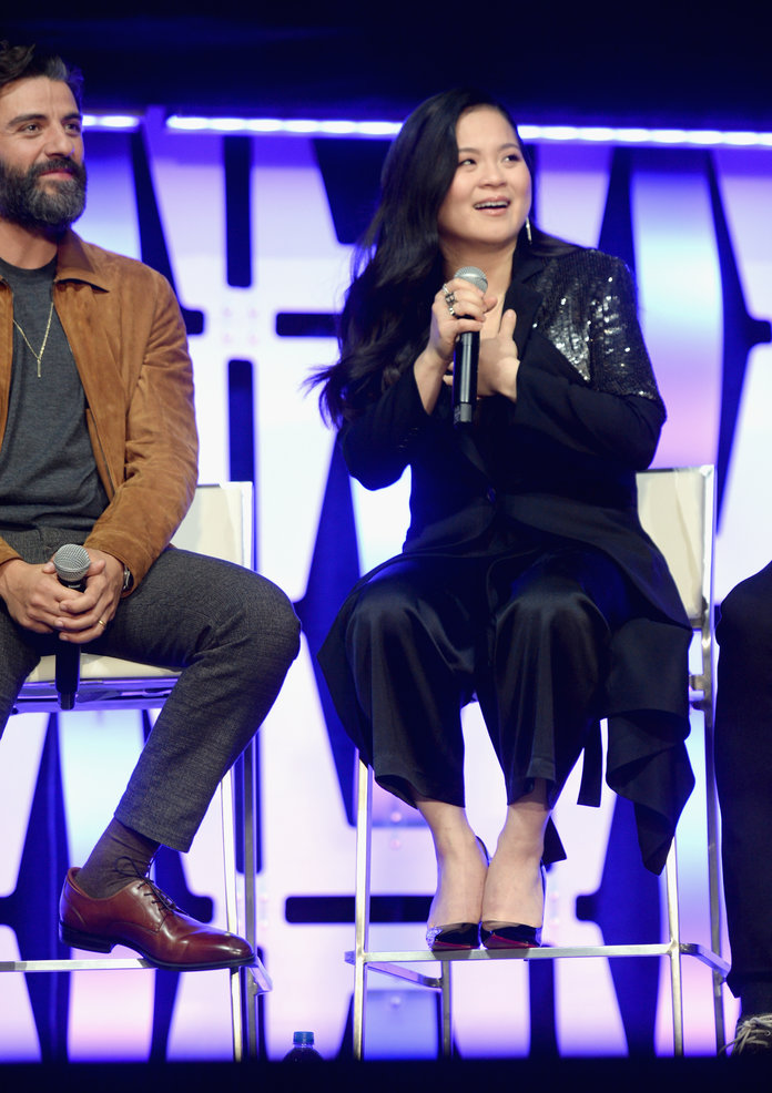 Kelly Marie Tran at The Rise of Skywalker Panel