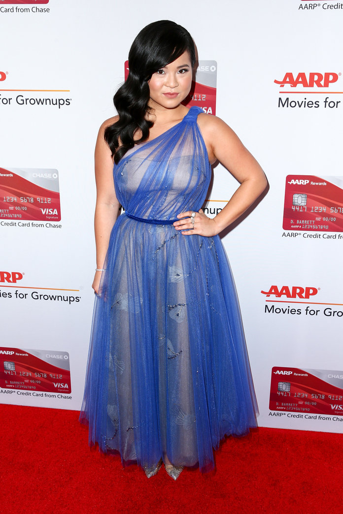 Kelly Marie Tran at AARP's 17th Annual Movies For Grownups Awards