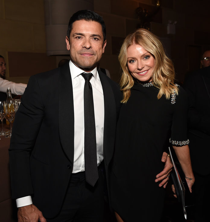 Kelly Ripa and Mark Consuelos at Radio Hall of Fame Class Of 2019 Induction Ceremony