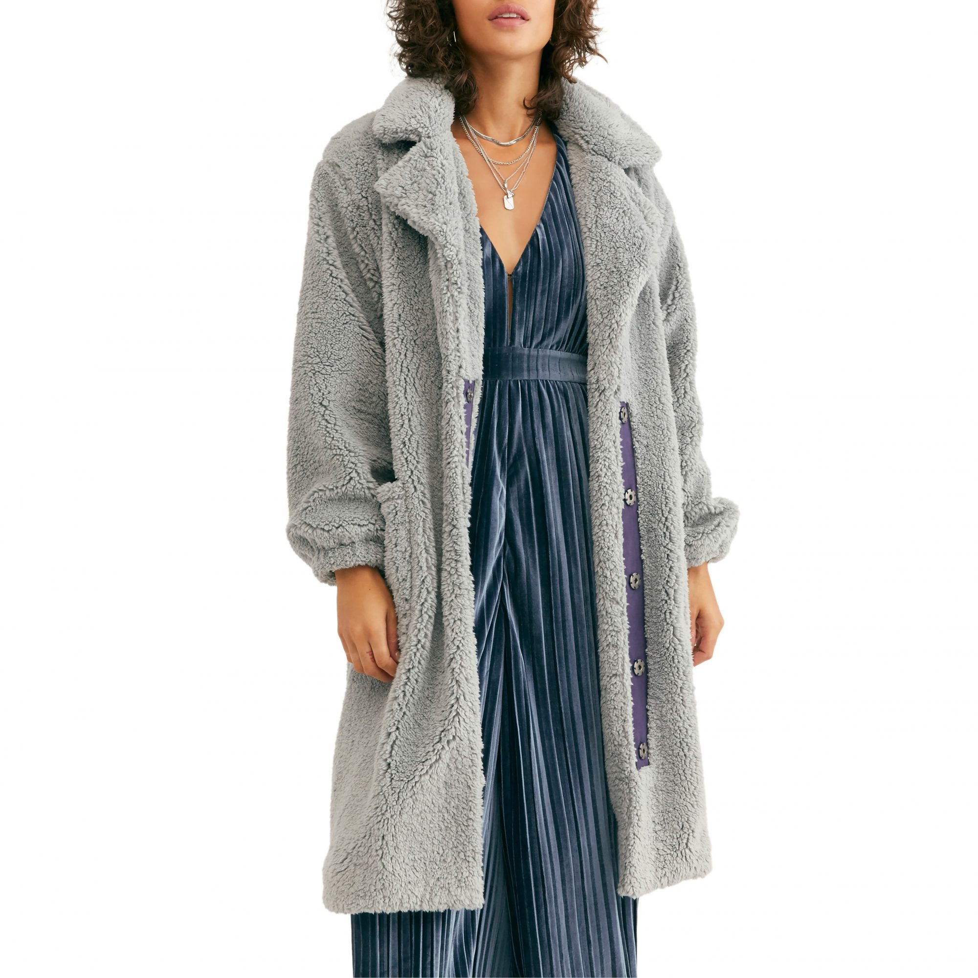 Free People Tessa Teddy Coat
