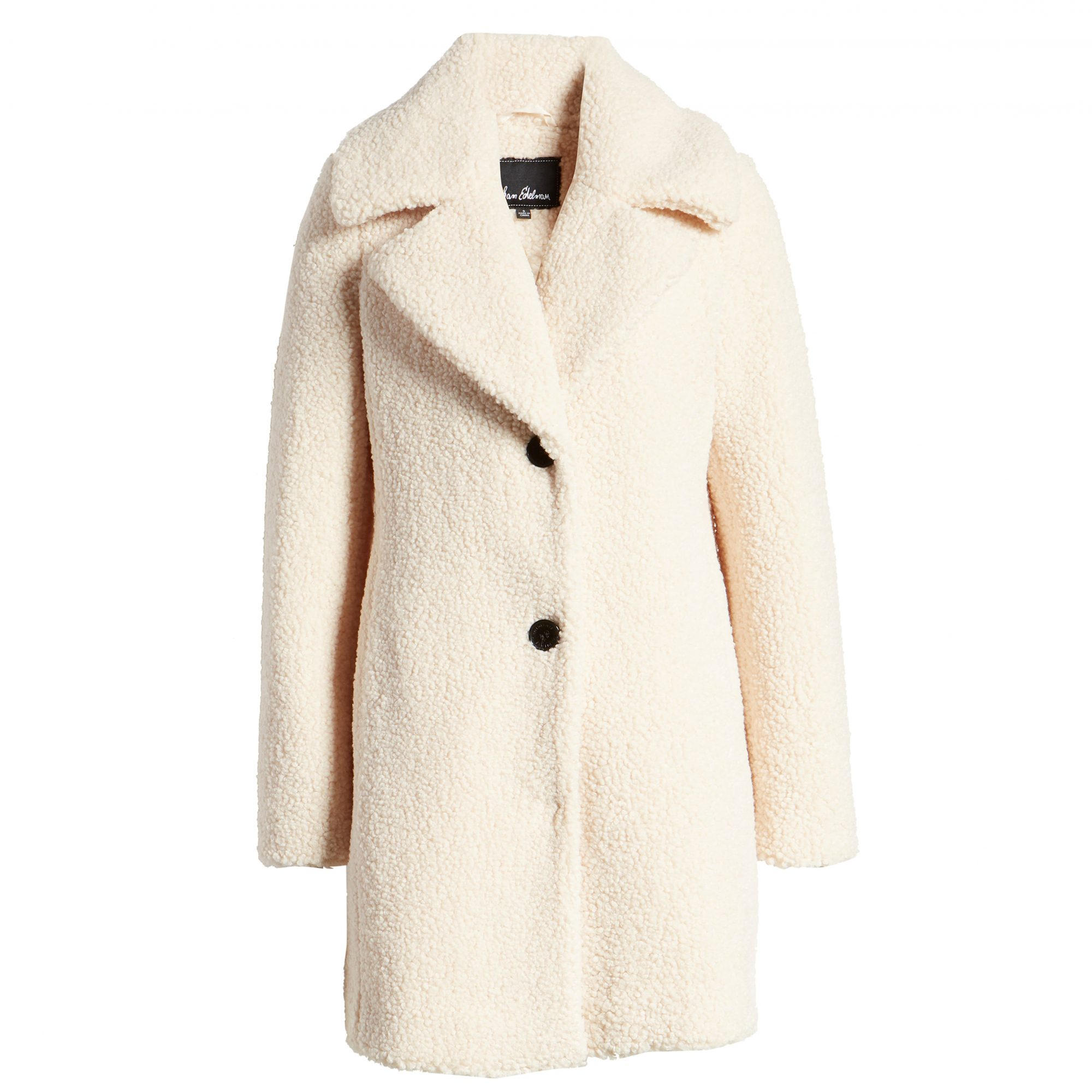 Sam Edelman Faux Fur Teddy Coat