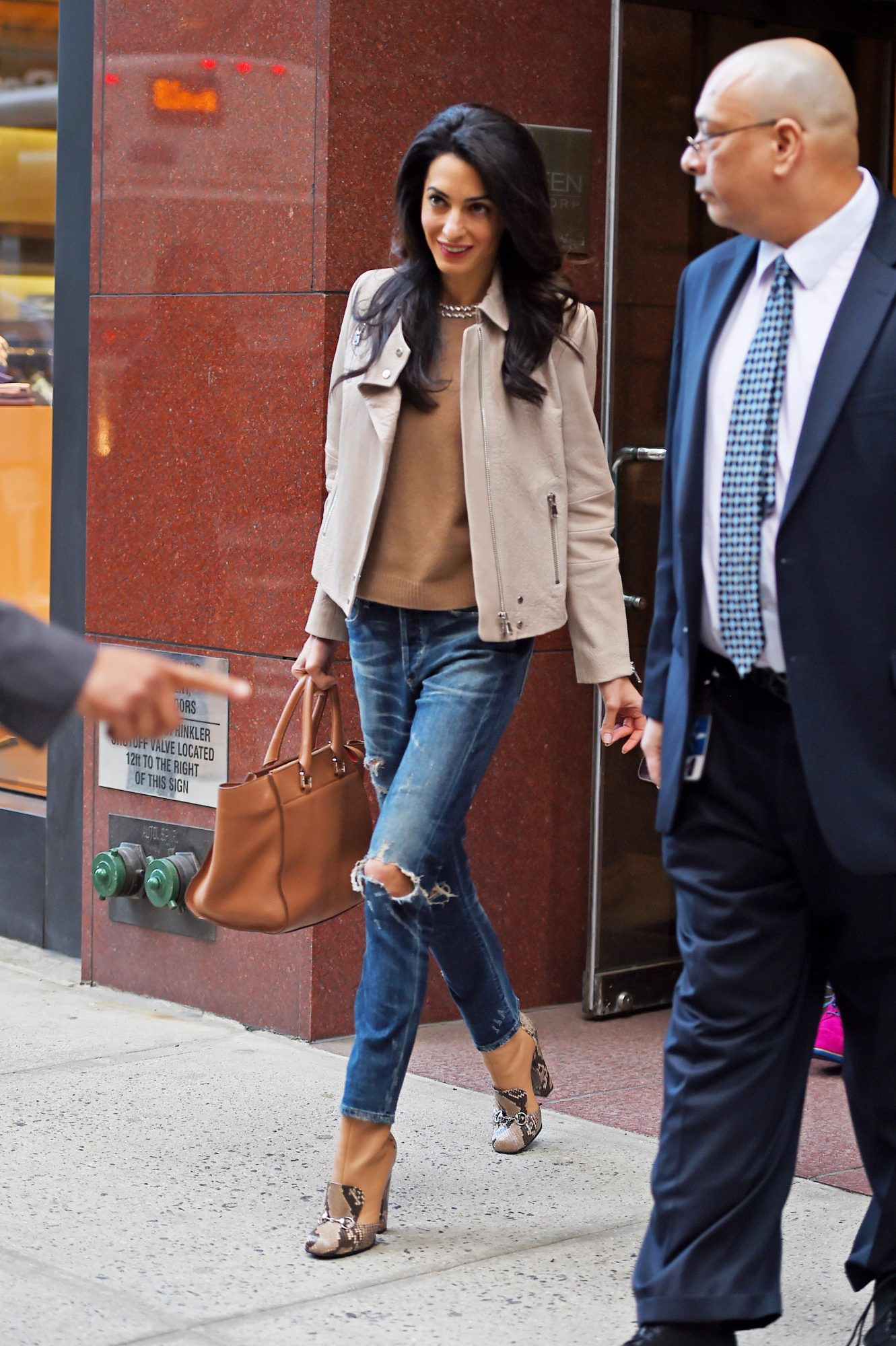 Amal Clooney's Snake Print Boots on Sale at Nordstrom's After-Christmas Sale