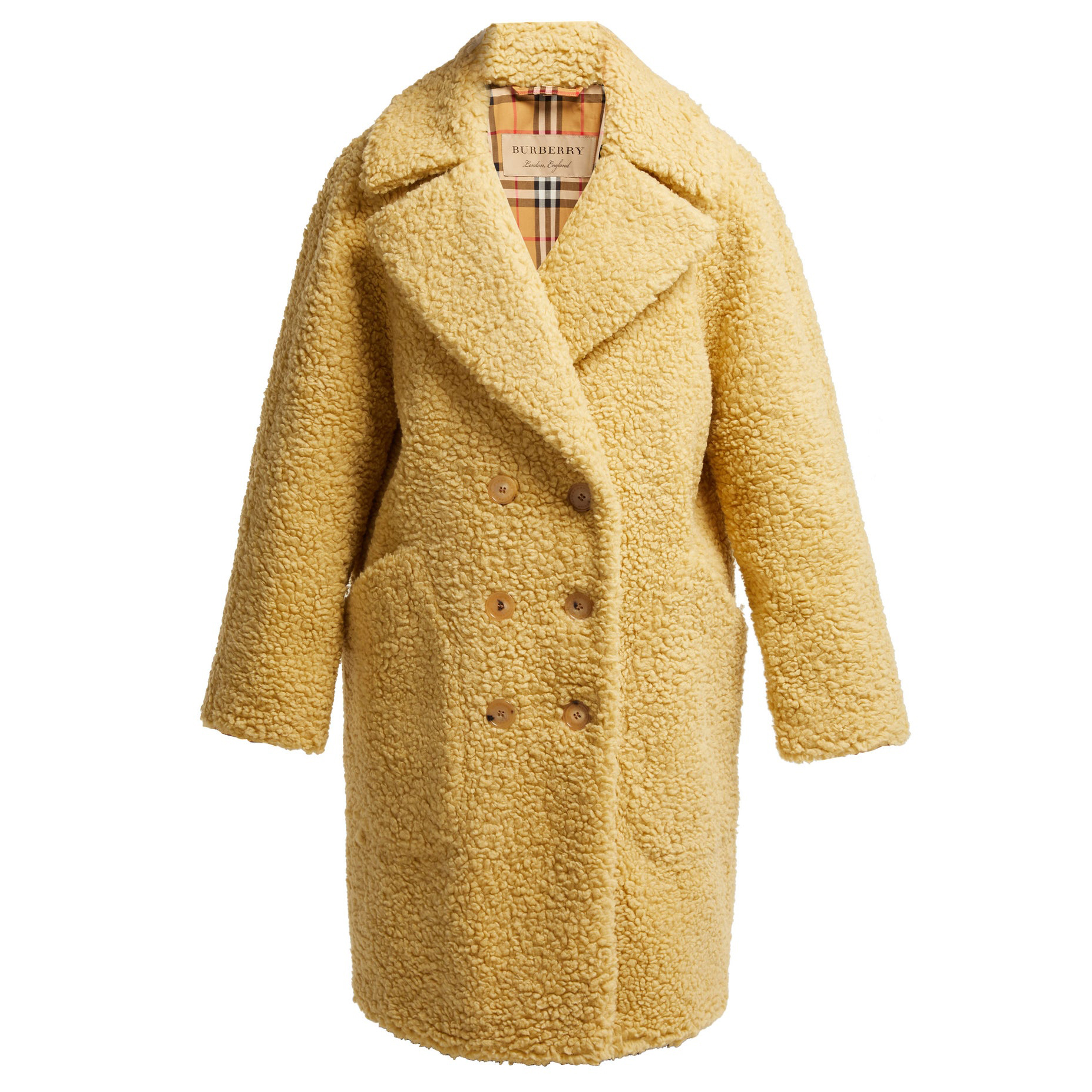 Willingstone wool-blend teddy coat Burberry