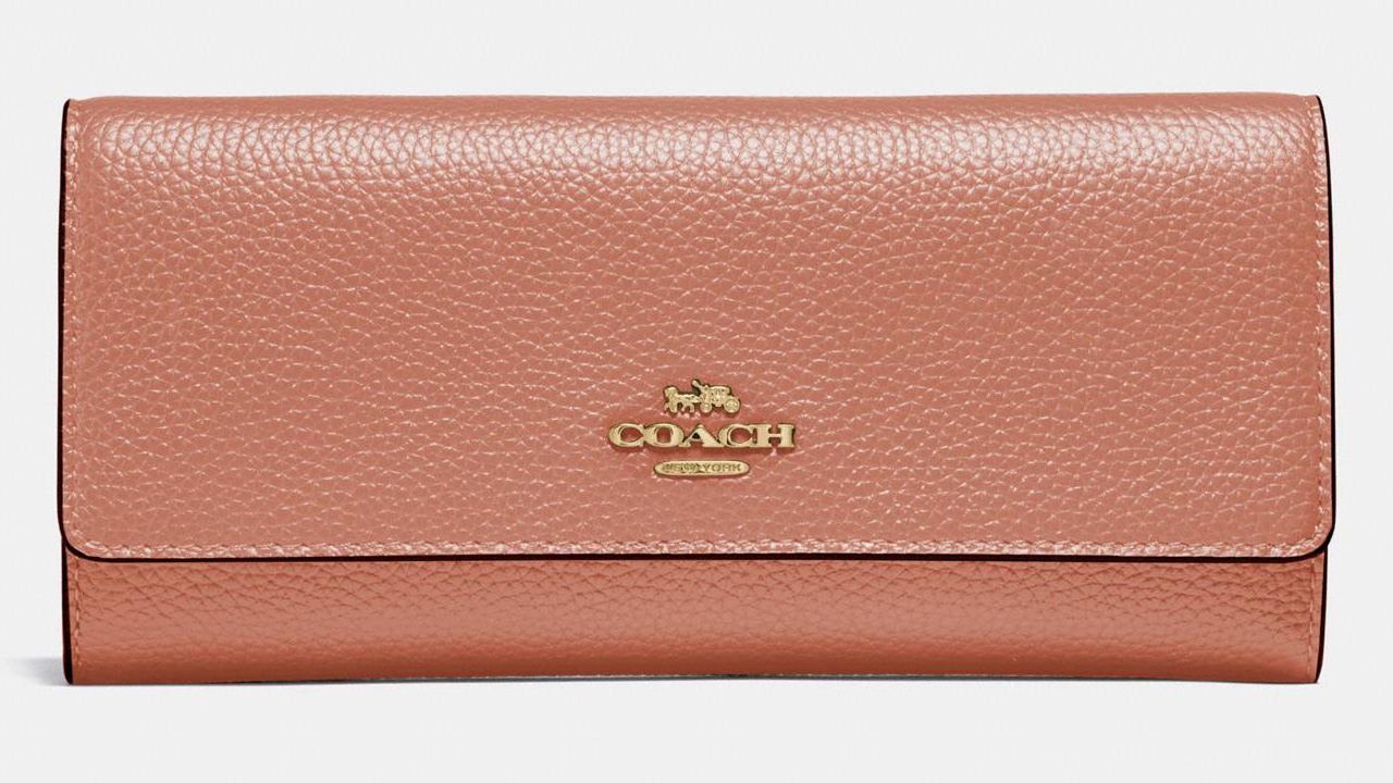 Coach Trifold Wallet Sale