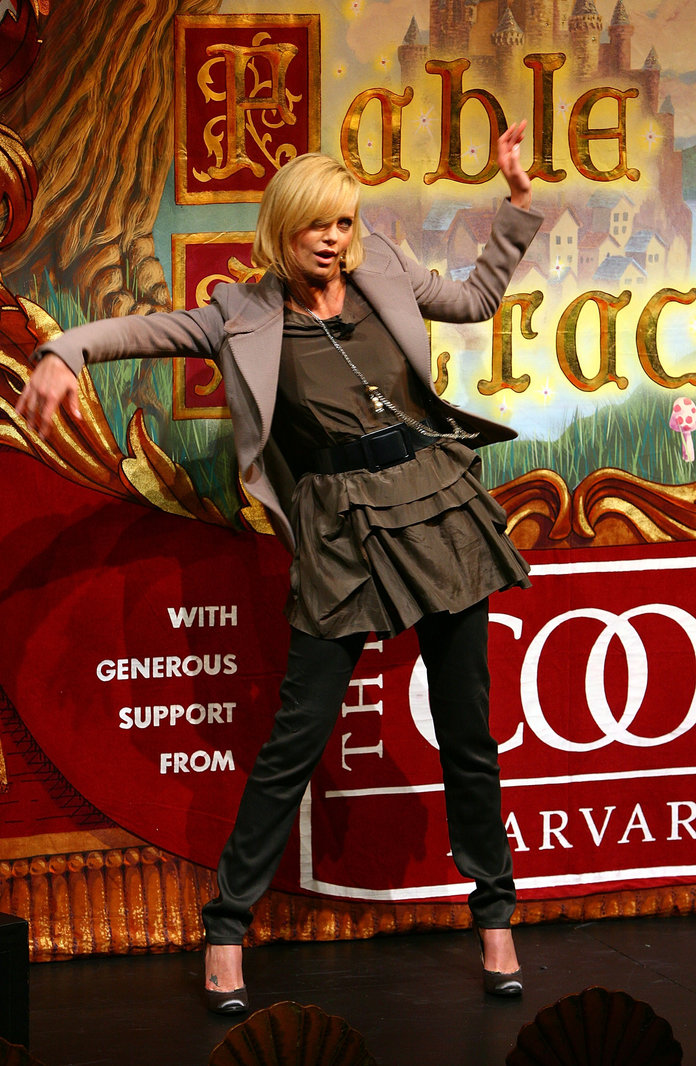 Charlize Theron Honored as Harvard University's Hasty Pudding Club's 2008 Woman of the Year