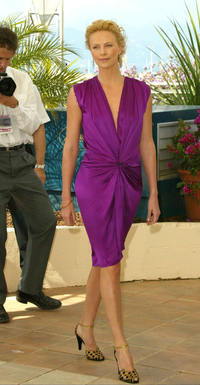 Charlize Theron at the 2004 Cannes Film Festival