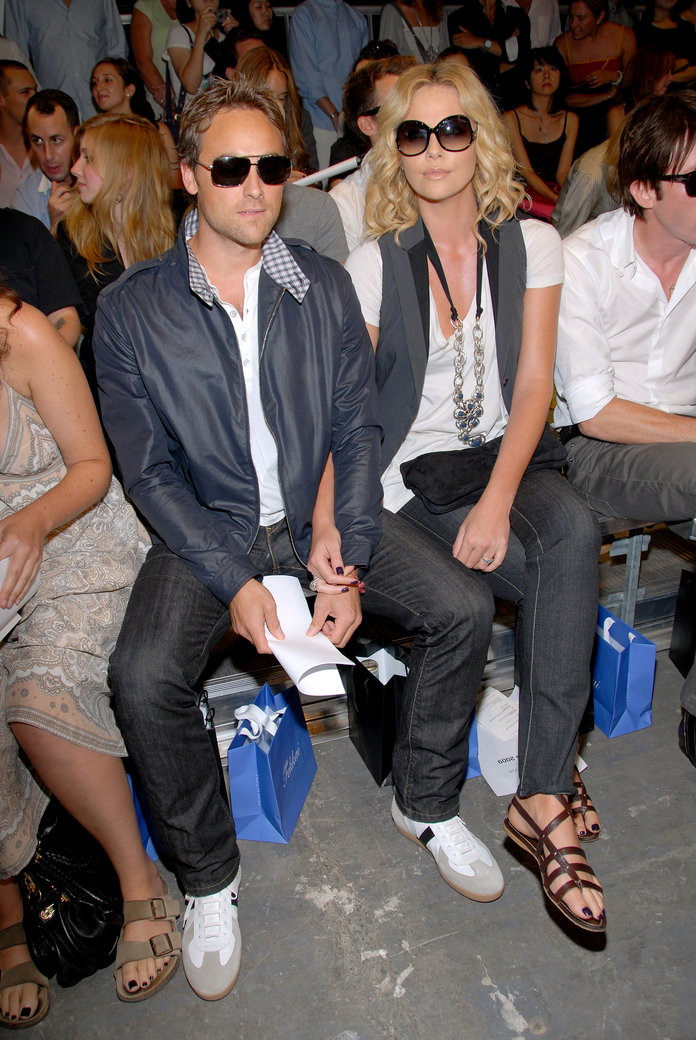Charlize Theron at the Spring/Summer 2009 Rag and Bone show