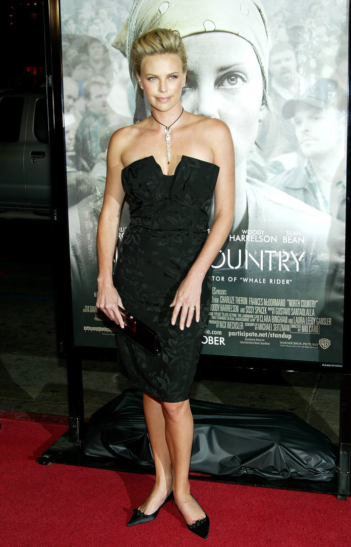 Charlize Theron 2005 North Country premiere