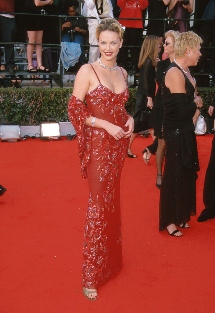 Charlize Theron at the 2000 Screen Actors Guild Awards