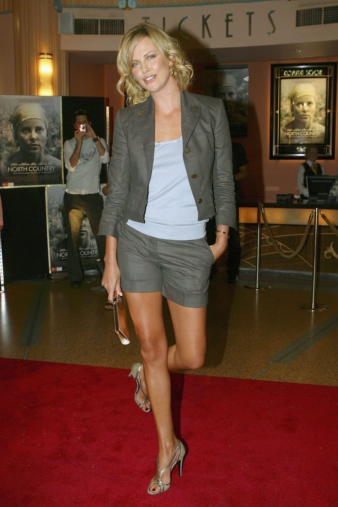 Charlize Theron at the 2006 North Country Melbourne premiere