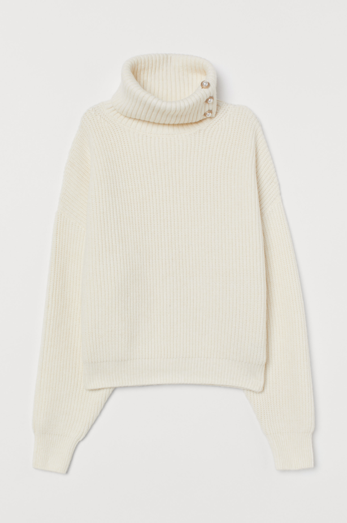 H&M Pearl Turtleneck