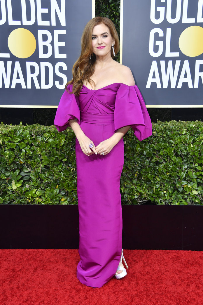 Isla Fisher Golden Globes 2020
