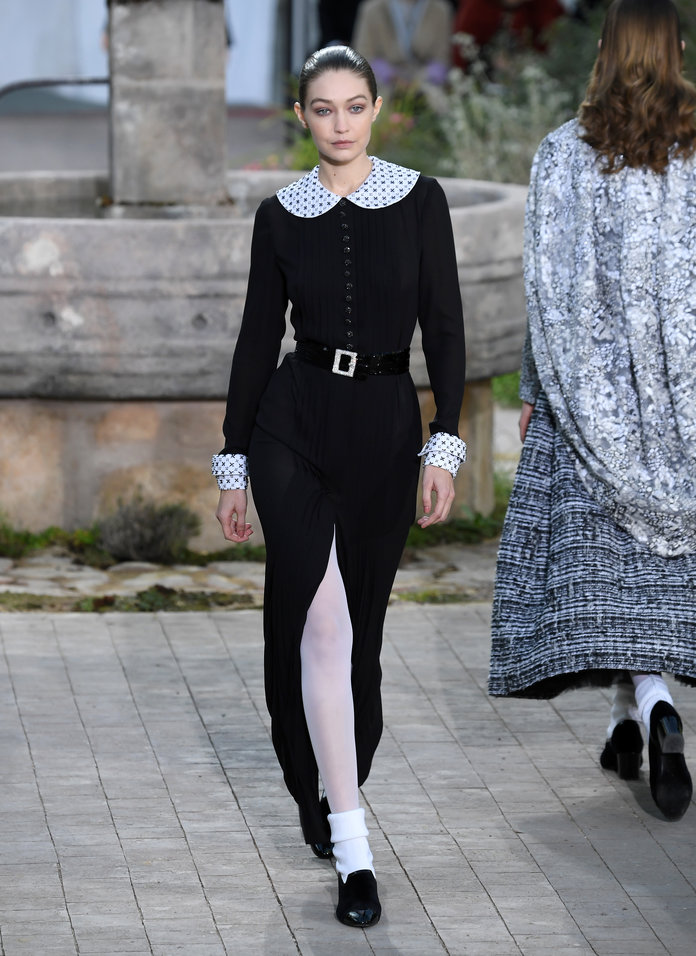 Chanel Couture Runway Tights
