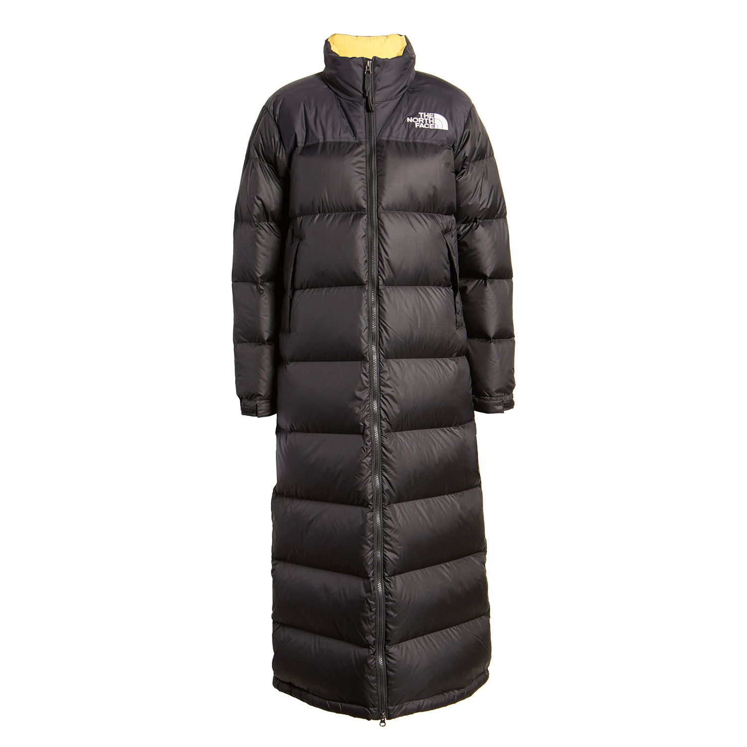 North Face Nuptse Long Water Repellent Down Coat