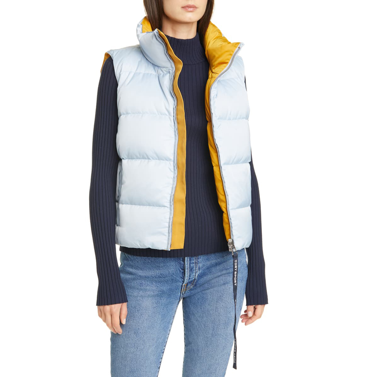 Performance Reversible Down Vest Tory Sport