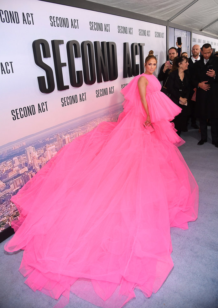 Jennifer Lopez 2018 at the World Premiere of  Second Act