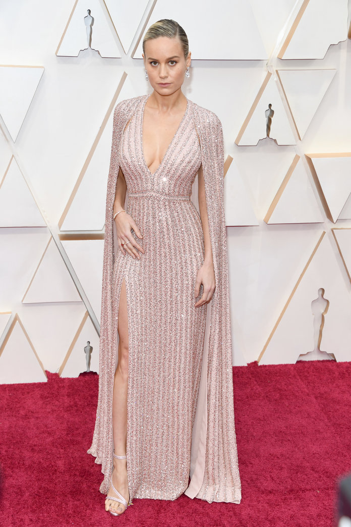 Brie Larson at the 2020 Oscars