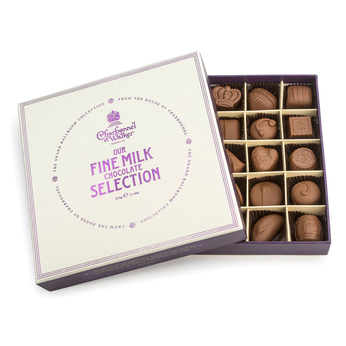 CHARBONNEL ET WALKER Fine Chocolate Selection in Gift Box