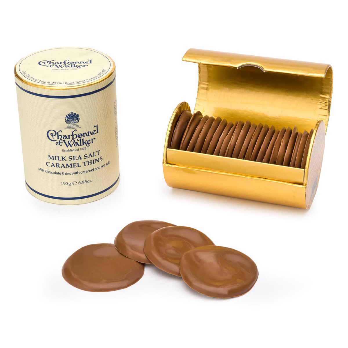 CHARBONNEL ET WALKER Flavored Chocolate Thins