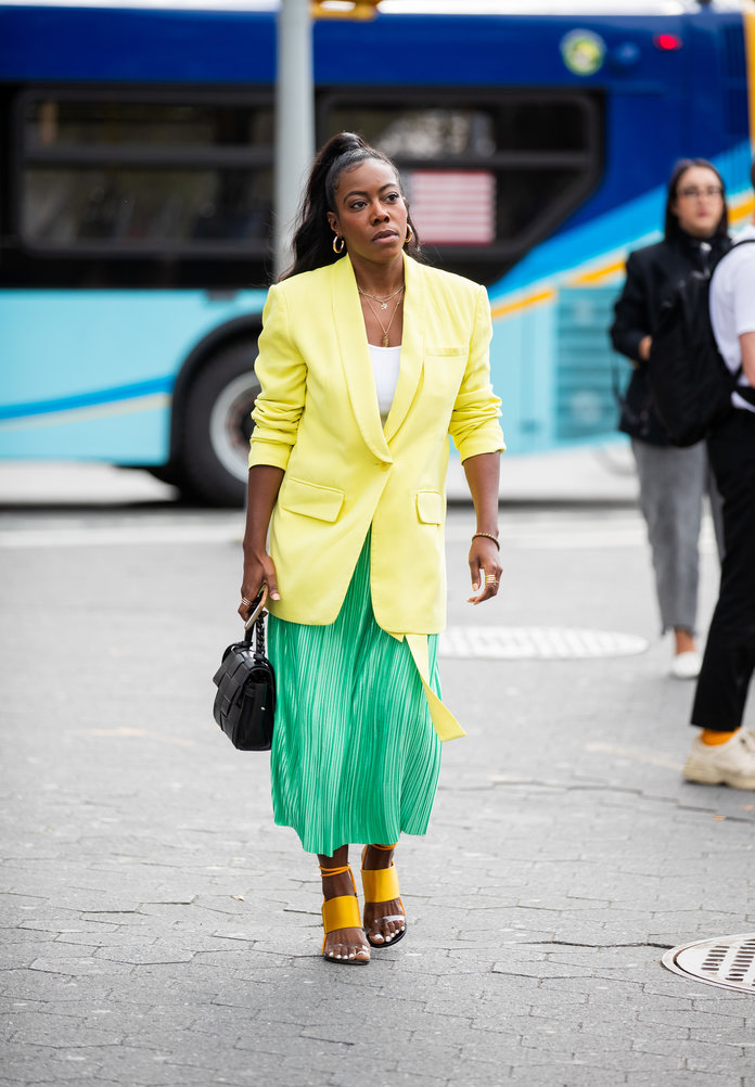 Color Pairing Ideas - Yellow and Green Outfit