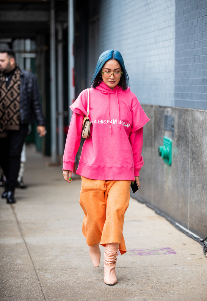 Color Pairing Ideas - Pink and Orange Outfit