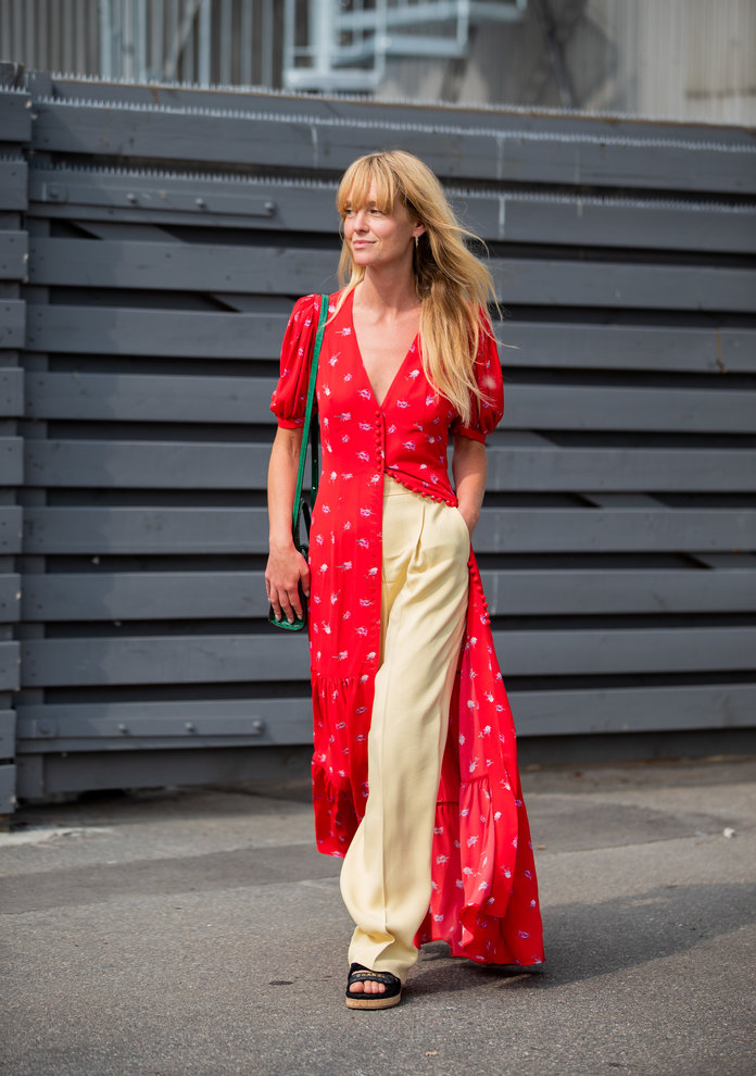 Color Pairing Ideas - Yellow and Red Outfit