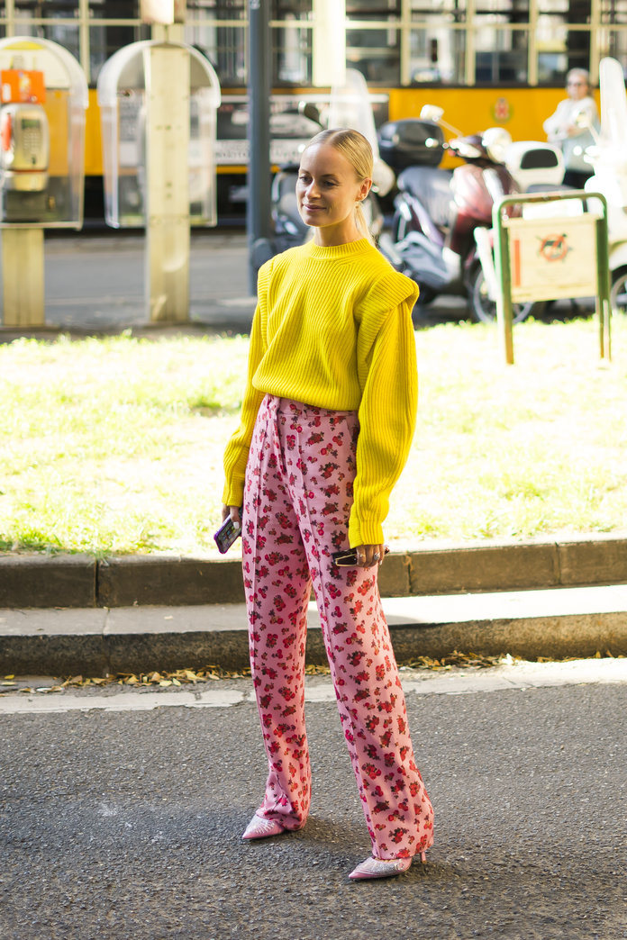 Color Pairing Ideas - Yellow and Pink Outfit
