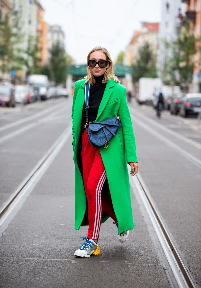 Color Pairing Ideas - Red and Green Outfit
