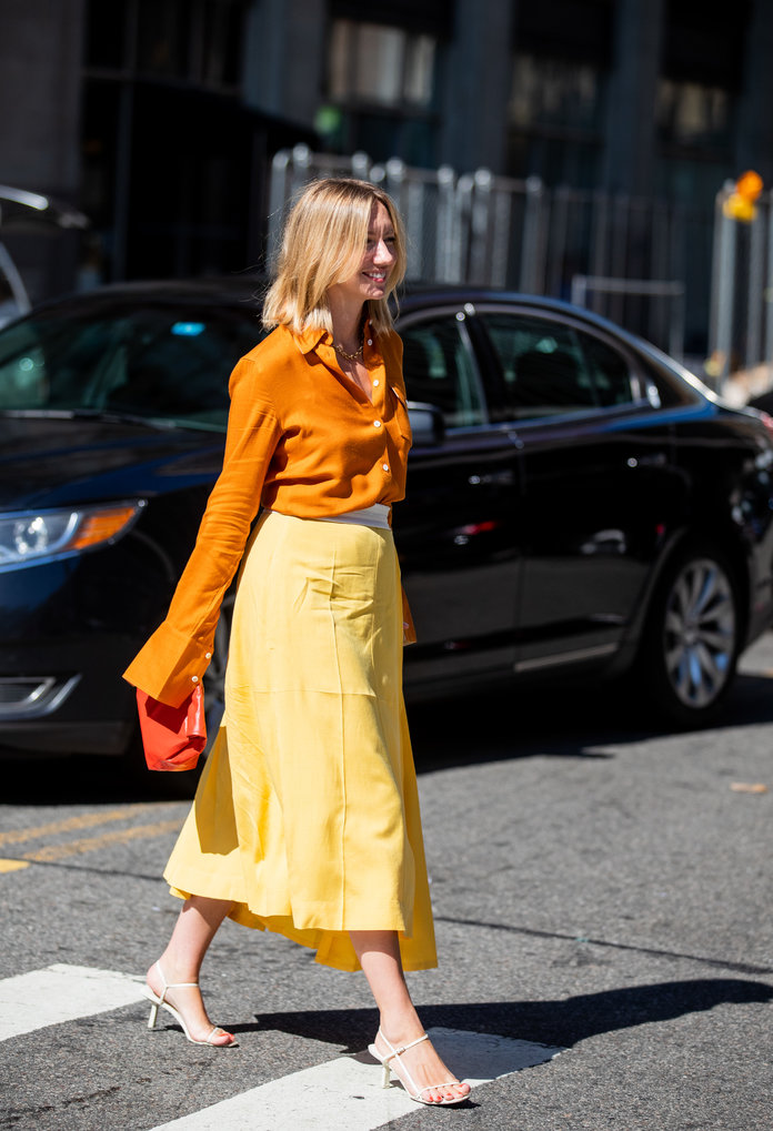 Color Pairing Ideas - Orange and Yellow Outfit