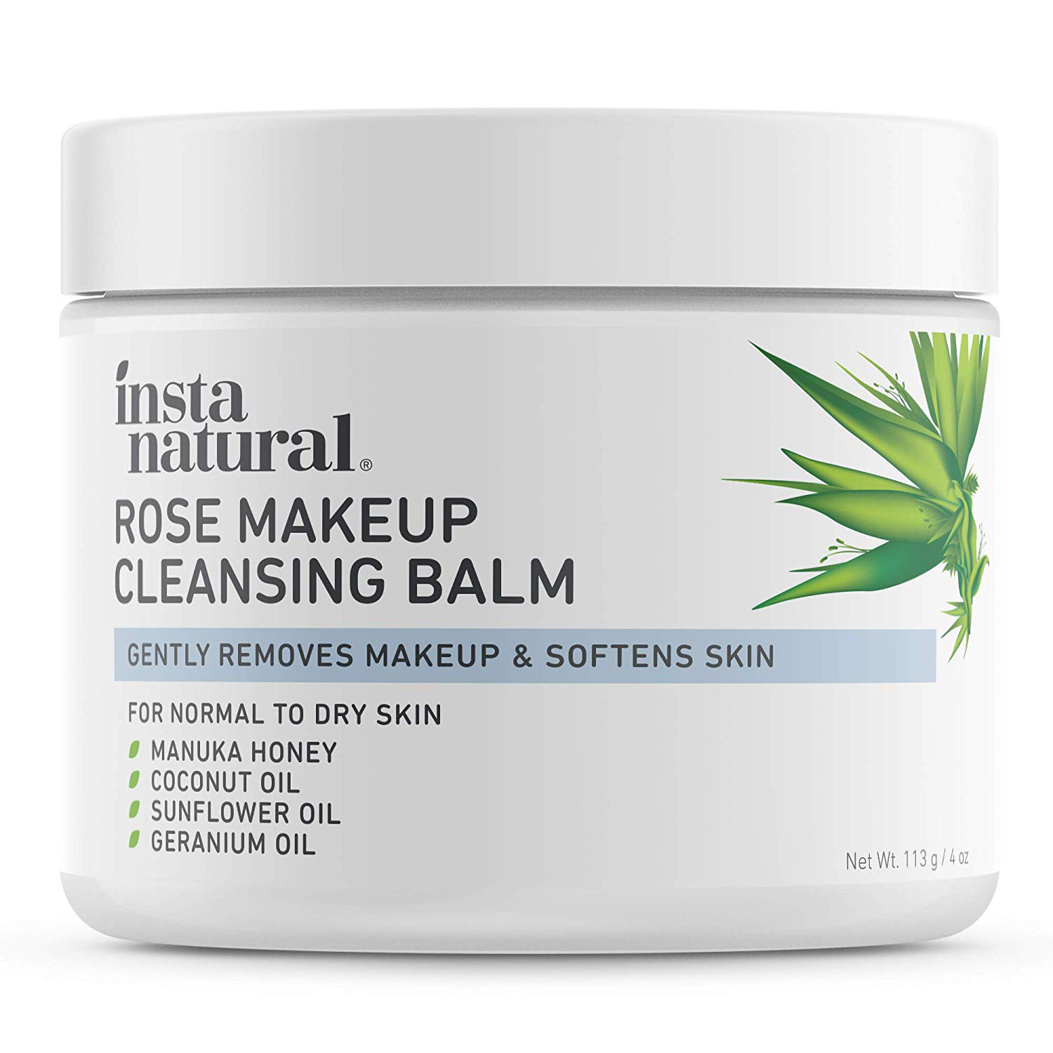 Rose Cleansing Balm Facial Cleanser & Makeup Remover