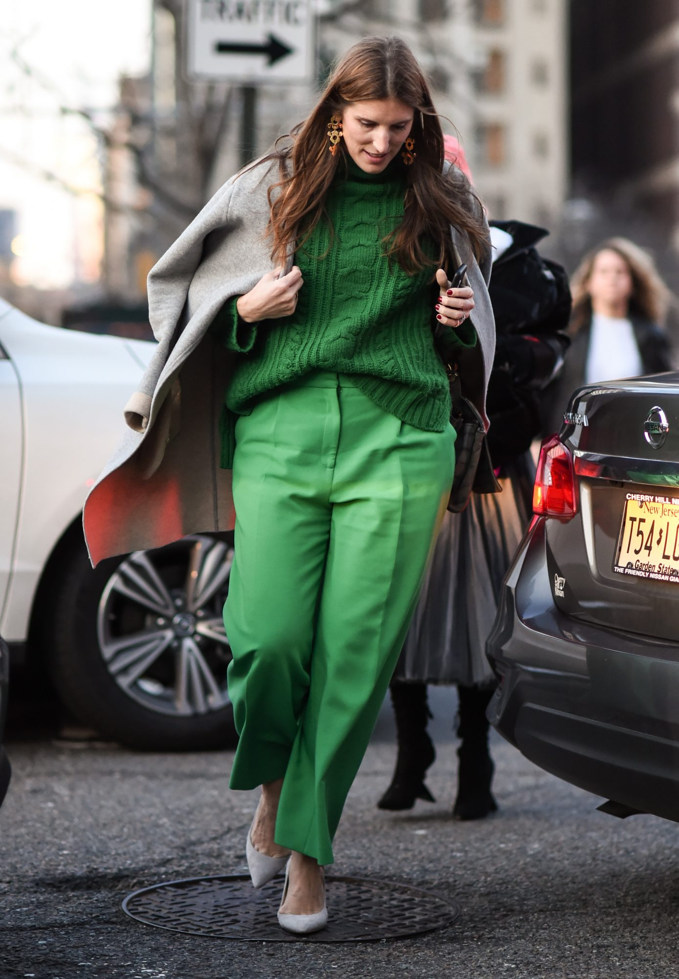 St. Patrick's Day Outfit Ideas, Green Monochromatic Outfit